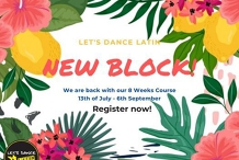 Latin Dance Classes Sunshine Coast - New Block!