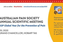 2020 Australian Pain Society 40th Annual Scientific Meeting