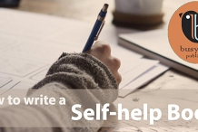 How to write a self-help book -- 30 May 2020 ONLINE