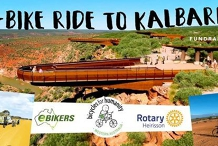 E-Bike ride to Kalbarri!