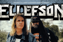 DAVID ELLEFSON More Live with Deth Australian Tour