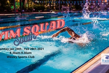 Swim Squad 2021 - 8.30am