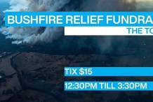 Bushfire Fundraiser Gig // The Toff in Town