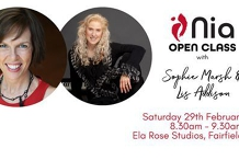 Open Nia Class with Sophie Marsh + Lis Addison