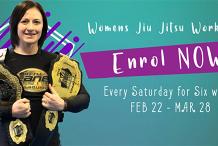 Womens Jiu Jitsu Workshop