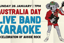 Australia Day Live Band Karaoke - Bushfire Fundraiser