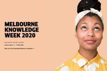 Melbourne Knowledge Week #MKW2020