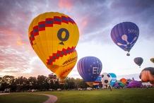 Canberra Balloon Spectacular at Enlighten Festival
