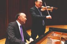 Cho-Liang Lin and Jon Kimura Parker