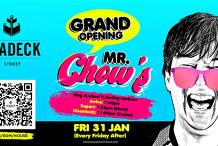 Grand Opening of MR CHOW'S - Friday 31 Jan