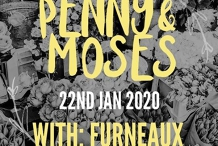 Penny & Moses at Open Studio with Furneaux