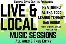Live and Local Music Sessions