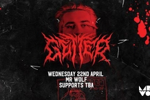 Mr Wolf pres. Getter | Wednesday 22nd April