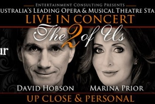 Marina Prior & David Hobson 'The 2 Of Us'