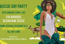 Aussie Day Party