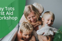 Tiny Tots First Aid Workshop