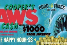 Cooper's JAWS of Cash + 49%Off