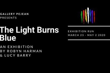 "Exhibition ""The Light Burns Blue"""