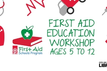 First Aid Education Workshop - Nightcliff Library Ages 5 to 12