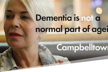 Dementia is NOT a normal part of ageing @ Campbelltown Seniors Festival 2020