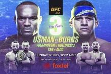 UFC Title fight Usman vs Burns