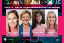 IWD2020: Celebrate the great women in our startup community
