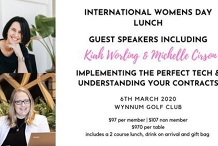 International Womens Day Lunch - Ladies it's your turn