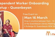 Independent Worker Onboarding Meetup - Queanbeyan