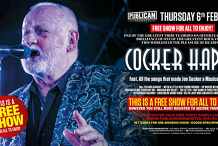Cocker Happy LIVE at Publican, Mornington!