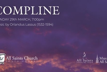 Compline - Passion Sunday - The 5th Sunday in Lent