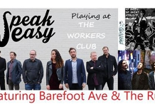 Speakeasy at The Workers Club Ft. Barefoot Ave & The Run.
