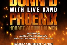Dunn D- Phoenix Hobart Album Launch(18+)