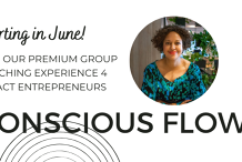 Conscious Flow FREE Webinar. Live on purpose and increase your productivity as a conscious entrepreneur