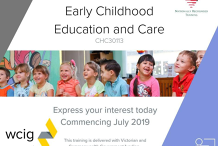 CHC30113 Certificate III in Early Childhood Education and Care in Footscray