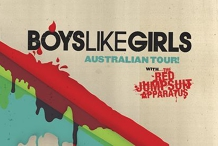 Boys Like Girls - The Gov, Adelaide w/ Red Jumpsuit Apparatus