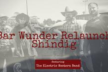 Bar Wunder Relaunch Shindig