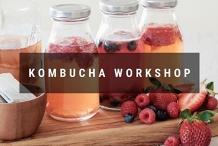 The Mighty Booch - DIY Kombucha Workshop