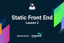 Static frontend Course(Free): Lesson 2