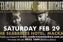 Felicity Urquhart & Brad Butcher