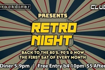 RETRO NIGHT - 1st Sat of Every Month