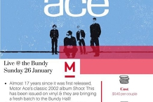Stay & See Package - Motor Ace Live at The Bundy