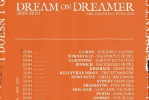 Dream on Dreamer Farewell Tour - Brisbane (SOLD OUT)