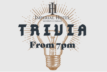 Weekly Trivia at The Imperial Hotel
