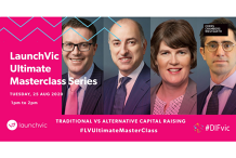 LaunchVic Ultimate Masterclass Series - Traditional vs alternative means of capital raising
