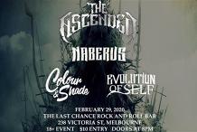 Destruct Agency Presents - Metal in Melbourne Feb 29th