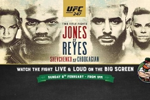 UFC 247: Jones vs Reyes