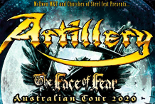 Artillery - The Face of Fear – Melbourne