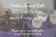 Online Sound Meditation