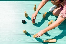 Giant Games at Summertime Social