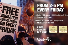 Free one-on-one Migration Consultation in Sydney and Melbourne!